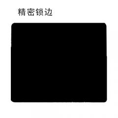 鼠标垫  200*240*1.5  X6 便宜小黑垫 普通锁边鼠标垫