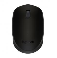 罗技 M170  笔记本电脑办公游戏鼠标 无线光电鼠标 黑色 无线