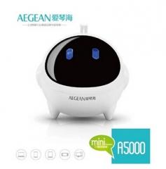 AEGEAN/爱琴海 A5000 多媒体音响双喇叭小音箱 白色