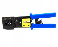 黑鹰威视 通孔钳子 适用于4芯 8芯 通孔等水晶头