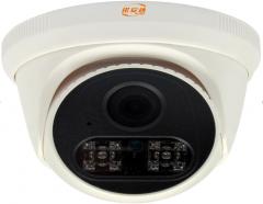 诺安达 NAD-7210SO-3MP-Y 睿视300万双灯红外H.265网络高清摄像机 内置麦克 3.6MM