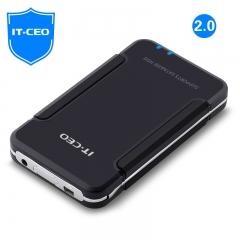 【USB2.0】IT-CEO F1 2.5寸存储盒支持SATA串口IDE并口硬盘 移动硬盘盒