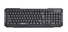 爱国者 W920 商务办公 家用有线键盘 黑色 USB