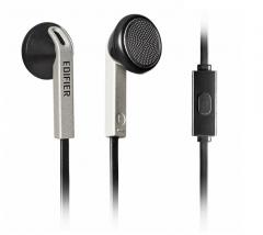 漫步者 H190P  智能手机耳机耳塞式耳麦 线控通话(单头) 黑色