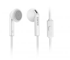 漫步者 H190P  智能手机耳机耳塞式耳麦 线控通话(单头) 白色