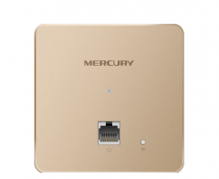 【金色版 】水星MIAP1200P 1200M 11AC双频千兆无线面板式AP【不退不换 正常售后】