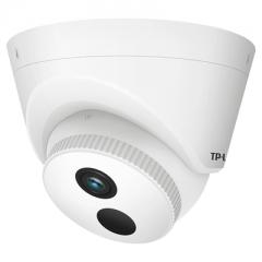 TP-LINK TL-IPC423CP 200万红外半球H.265+网络高清摄像机 支持POE供电 6MM