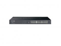 TP-LINK TL-SG2024 24口全千兆Web网管交换机【不退不换 正常售后】