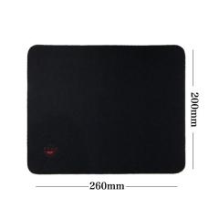【裸包】矢量空间 200*260*4mm黑色加厚 鼠标垫