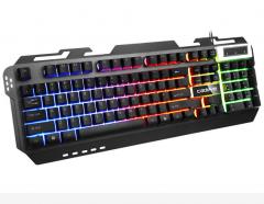 凯迪威 VR50 VR30 铝合金发光键盘 黑色 USB