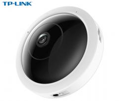 TP-LINK TL-IPC53A 300万H.265全景鱼眼无线监控网络摄像机