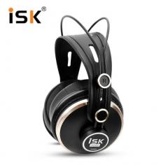 ISK HD9999 头戴式录音专用K歌监听耳麦