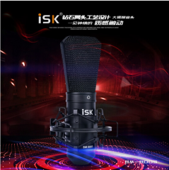 ISK BM800S 电容麦克风 需配48V幻像电源【不退不换 正常售后】