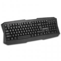 博士顿 K350 台式机电脑家用办公 USB游戏有线键盘【30/箱】 黑色 USB