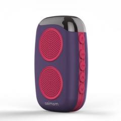 DOSS 【德仕】 阿希莫M15 运动无线蓝牙音箱 紫色 蓝牙 插卡