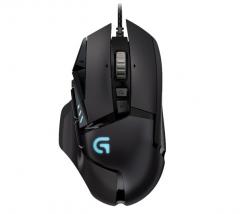 罗技(G)G502 hero 主宰者游戏鼠标全新升级吃鸡鼠标RGB宏鼠标