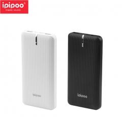 ipipoo/品韵 LP13 LN聚合物 10000毫安充电宝 双USB移动电源 黑色