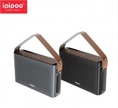 ipipoo/品韵 YP1 3000毫安移动电源 FM收音机 插卡蓝牙音箱 灰色 插卡 蓝牙