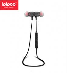 ipipoo/品韵 80BL 入耳式防水跑步运动立体声无线蓝牙耳机 灰红色