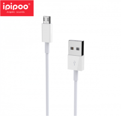 ipipoo/品韵 IP10  安卓手机数据线 白色 1000mm