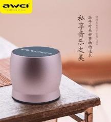 awei/用维 Y500 金属 重低音 3.5mm接口语音提示可插卡无线蓝牙音箱