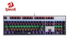 虹龙/红龙 K350 插拔青轴防水全键无冲突机械键盘 黑色 USB