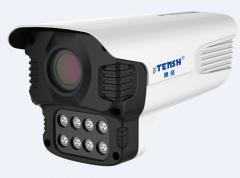 腾视二郎神 TS-3MP-ELS-8DR-L-Y 300万H.265+八灯柔光全彩高清摄像机 6MM