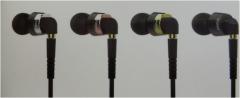 ipipoo/品韵 1Vi 入耳式带线控 可拆卸手机耳机 黑色