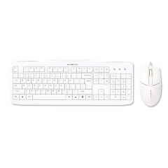 森松尼 T10 商务办公 家用有线套件 白色 U+U