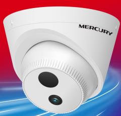 水星MERCURY- MIPC231P 200万半球网络高清摄像头 H.265+编码支持POE供电 4MM