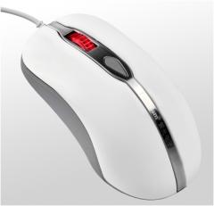 紫光 U39 新款鼠标 商务办公有线鼠标 白色 USB