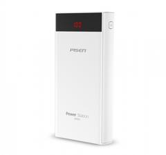 品胜 TS-235 快充电库20100毫安移动电源大容量PD/QC快充充电宝 白色