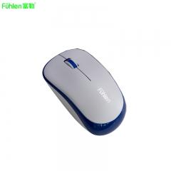富勒 A03G 无线游戏节能鼠标 办公家用台式机鼠标 笔记本无线鼠标 白兰 无线