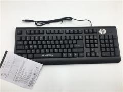 森松尼  S-k2 静音有线键盘 全黑色