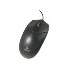 螳螂王 M801 商务办公有线鼠标 黑色 USB