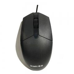 本手 M1000 办公有线鼠标 黑色 USB