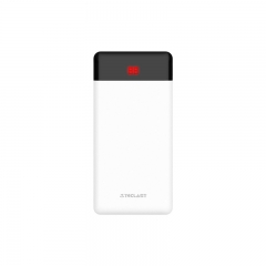 台电 T100K Pro 10000毫安手机移动电源 白色