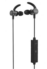 声籁 S20 蓝牙5.0金属耳壳降噪麦克无线蓝牙耳机 黑色