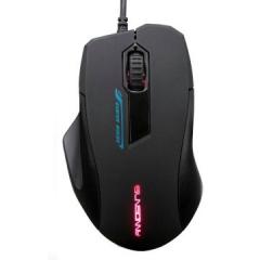 森松尼 M3 游戏发光有线鼠标 黑色 USB