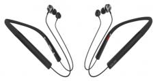 声籁 S19 蓝牙5.0金属耳壳降噪麦克无线蓝牙耳机 黑色