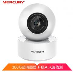 水星 MIPC351-4 300万H.265云台无线网络摄像机 焦距4mm