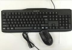 森松尼 T10UU 商务办公有线套件 黑色 U+U