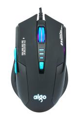 爱国者 Q823 有线时尚发光游戏鼠标 【60/件】 黑蓝 USB