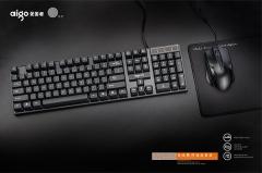 爱国者 WQ9515 悬浮键 商务办公有线套件 黑色 U+U