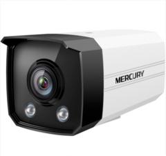水星 MIPC212PWB 200万 黑光全彩网络摄像头 H.265+编码 支持POE供电 4MM