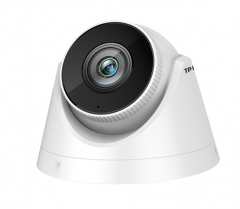 TP-LINK TL-IPC435HP-S 300万POE音频红外半球网络摄像机 4MM