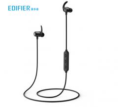 漫步者 W280BT 磁吸入耳式 无线蓝牙线控耳机 黑色