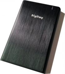 Digi fmy T706 金属拉丝 USB3.0超薄机身移动硬盘盒