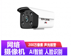 TP-LINK TL-AIPC524H-D 200万AI智能警戒网络摄像机 4MM