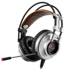 西伯利亚 K9U 7.1耳麦 头戴式带麦克发光游戏耳机【24/件】 铁灰色